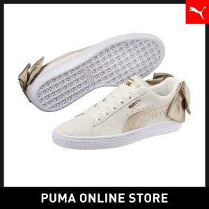 プーマ PUMA スウェード BOW バーシティ ウィメンズ レディース シューズ スニーカーの商品画像|ナビ