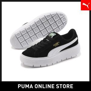 プーマ PUMA プラットフォーム トレース ウィメンズ MU レディース スニーカー シューズ 2018年秋冬|puma
