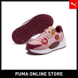 プーマ PUMA キッズ セサミストリート 50 RS 9.8 PS スニーカー (17-21CM) キッズ sesami street スニーカー シューズ 2019年秋冬新作 19FH|puma