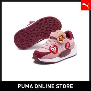プーマ PUMA ベビー セサミストリート 50 RS 9.8 AC スニーカー (12-16CM) キッズ sesami street スニーカー シューズ 2019年秋冬新作 19FH|puma
