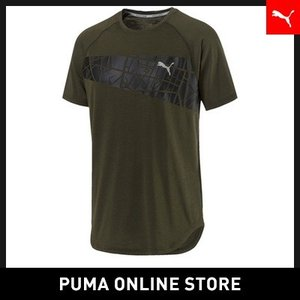 プーマ PUMA グラフィック トリブレンドTシャツ メンズ ランニング トップス 半袖Tシャツ 2018年秋冬|puma