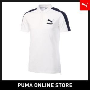 プーマ PUMA ARCHIVE T7 ポロシャツ【メンズ ポロシャツ】2018年春夏