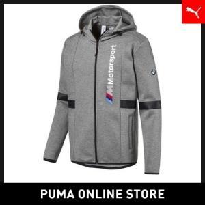 プーマ PUMA BMW MMS フーデッド スウェット ジャケット メンズ BMW トップス パーカー 2018年秋冬|puma