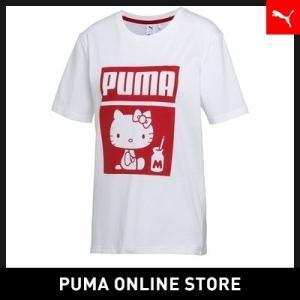 プーマ PUMA PUMA X HELLO KITTY TEE【レディース ハローキティ トップス ...