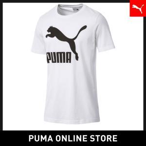 プーマ PUMA CLASSICS ロゴ SS Tシャツ メンズ トップス 半袖Tシャツ 2018年秋冬|puma