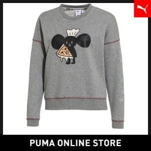 プーマ PUMA x TYAKASHA CREW SWEAT レディース チャカシャ トップス スウェット 2018年秋冬|puma