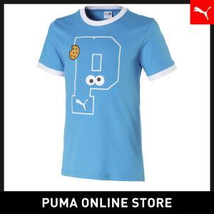 プーマ PUMA キッズ セサミストリート SS グラフィック Tシャツ キッズ sesami street トップス 半袖Tシャツ 2019年秋冬新作 19FH|puma
