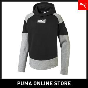 プーマ PUMA キッズ アルファ アドバンス フーディー FL キッズ トップス パーカー 201...