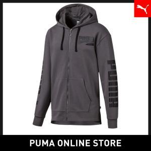 プーマ PUMA REBEL ボールド フーデッドスウェットジャケット メンズ トップス パーカー 2019年秋冬新作 19FHの商品画像|ナビ