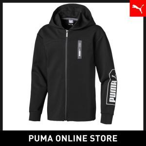 プーマ PUMA キッズ NU-TILITY フルジップ フーディー キッズ トップス パーカー 2...
