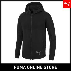 プーマ PUMA EVOSTRIPE フーデッドスウェットジャケット メンズ トップス パーカー 2019年秋冬新作 19FHの商品画像|ナビ