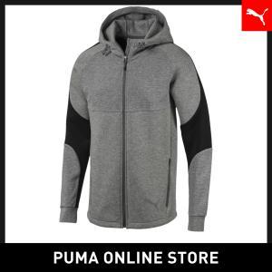 プーマ PUMA EVOSTRIPE フーデッドスウェットジャケット メンズ トップス パーカー 2...