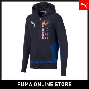 プーマ PUMA レッドブル RBR ロゴ フーデッド スウェット ジャケット メンズ レッドブル ...