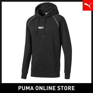 プーマ PUMA CLASSICS NO.2 ロゴ フーディー メンズ トップス パーカー 2019...