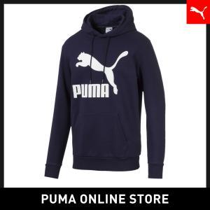 プーマ PUMA CLASSICS ロゴ フーディー メンズ トップス パーカー 2019年秋冬新作...