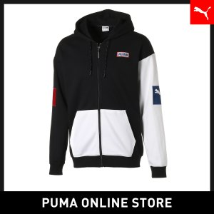 プーマ PUMA COLOUR BLOCK ジップアップ フーディ メンズ トップス パーカー 20...