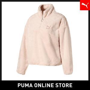 プーマ PUMA ウィンター クラシック ウィメンズ HZ フリース レディース トップス スウェッ...
