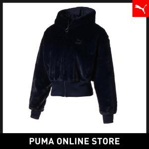 プーマ PUMA ウィンター クラシック ウィメンズ FZ フーディー レディース トップス パーカ...