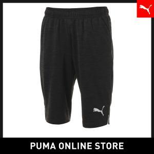 プーマ PUMA CUP スウェットハーフパンツ メンズ サッカー ハーフパンツ 2019年春夏 19SS|puma