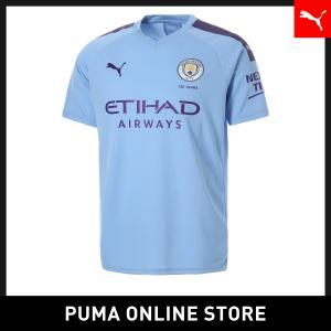 プーマ PUMA マンチェスター・シティ MCFC SS ホーム レプリカシャツ メンズ サッカー マンチェスターシティ ユニフォーム トップス 2019年秋冬 19FH|puma