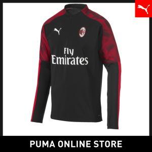 プーマ PUMA ACミラン ACM 1/4 ジップ トップ メンズ サッカー ACミラン トップス...