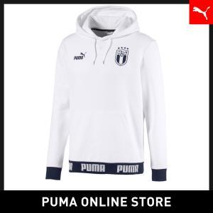 プーマ PUMA FIGC FTBLCULTURE フーディ メンズ サッカー イタリア トップス パーカー 2020年春夏新作 20SSの商品画像|ナビ