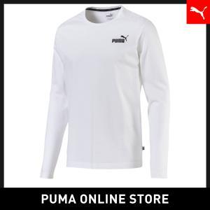 プーマ PUMA ESS LS Tシャツ メンズ トップス 長袖Tシャツ 2019年秋冬新作 19F...