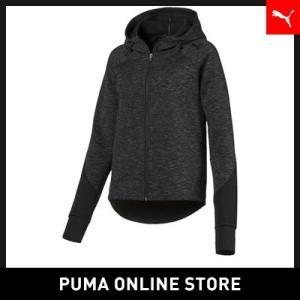 プーマ PUMA EVOSTRIPE フーデッドジャケットレディース トップス パーカー2018年秋冬|puma