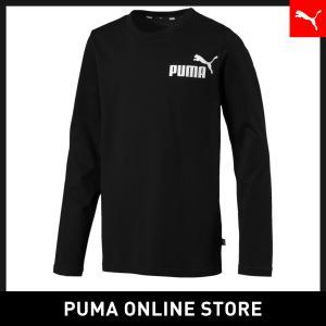 プーマ PUMA キッズ ESS LS Tシャツ キッズ 長袖Tシャツ