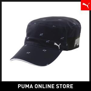 プーマ PUMA ゴルフ フュージョン ミリタリー メンズ ゴルフ 帽子 キャップ 2019年春夏 19SS|puma