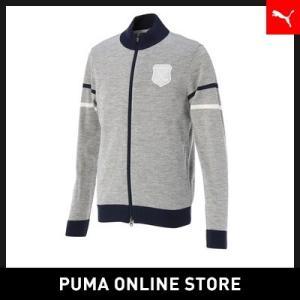 プーマ PUMA ゴルフ GOLF フルジップ セーター【メンズ ゴルフ GOLF カーディガン】...