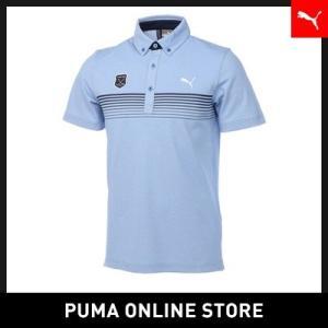 プーマ PUMA ゴルフ チェストラインベントSSポロシャツ...