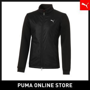 プーマ PUMA ゴルフ PUMAロゴ ウィンドブロック ジャケット メンズ ゴルフ アウター 2018年秋冬|puma