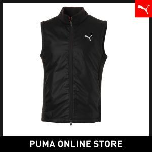 プーマ PUMA ゴルフ PUMAロゴ ウィンドブロック ベスト メンズ ゴルフ アウター 2018年秋冬|puma