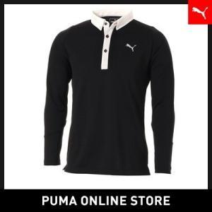 プーマ PUMA ゴルフ PUMAロゴ LS ポロシャツ メンズ ゴルフ ポロシャツ 2018年秋冬|puma