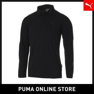 プーマ PUMA ゴルフ ZIP ポケット LS ポロシャツ メンズ ゴルフ ポロシャツ 2018年秋冬|puma