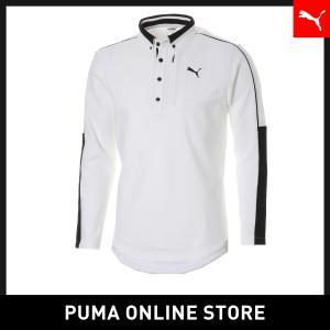 プーマ PUMA ゴルフ REBEL LS ポロシャツ メンズ ゴルフ ポロシャツ 2019年秋冬新作 19FH|puma
