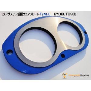タングステン超硬ウェアプレート Type.L 【KYOKUTO 9B】|pump-parts