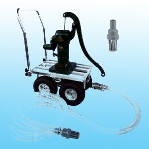 TOBO東邦工業 移動式手押しポンプ<共柄ポンプ型>『それ行けポンプ』T35PSCF−IDO|pumpgennosuke1