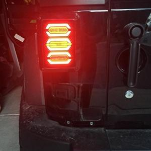 Jeep テールランプ LEDテールライト 低消費電力 取り付け簡単 高輝度 防水IP67 2個セット モデル: 日本向け|pumpkintetsuko83