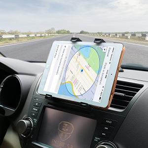 OHLPRO タブレットホルダー車載ステント,360度回転吸盤式車載ダッシュボード マウントホルダースタ,7-9.7-10.5インチ タブレット ホル|pumpkintetsuko83