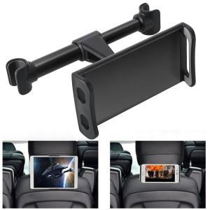 車用 後部座席 360度回転式 ヘッドレスト マウント iPad サムスン Galaxy Amazo...