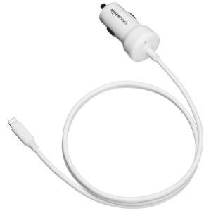 車で移動中に携帯用Appleデバイスを充電できるLightning車載充電器。 Apple MFi認...