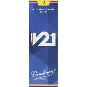 バンドーレン バスクラリネットリード V21 硬さ : 3 (5枚入り) punipunimall