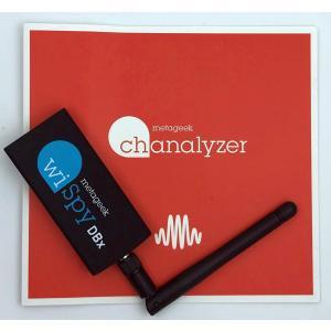 2.4/5GHz対応USBスペクトラムアナライザ Wi-Spy DBx + Chanalyzer punipunimall