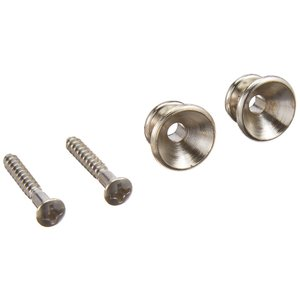 Fender フェンダー パーツ PURE VINTAGE STRAP BUTTONS NICKEL