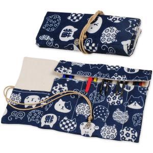 材料:良質の帆布素材ペンポーチペンケースかわいい使いやすい。革は軟らかめで使いやすいです。 サイズ:...