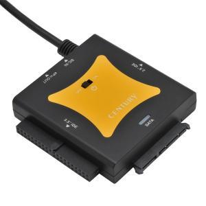 センチュリー 「裸族の頭 IDE+SATA Ver3」 USB2.0変換 HDD接続アダプタキット CRAISU2V3 punipunimall