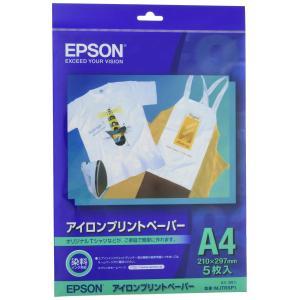 EPSON アイロンプリントペーパー A4サイズ 5枚入り MJTRSP1|punipunimall