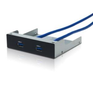 サイズ 3.5インチベイ用USB3.0コネクタパネル FPU3|punipunimall
